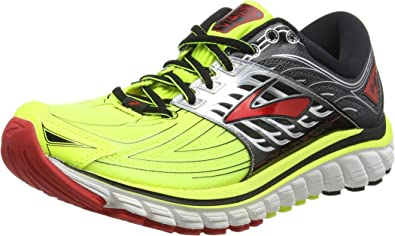 Brooks Glycerin 14, Zapatillas de Entrenamiento para Hombre, Multicolor (Nightlife/Black/High Risk Red), 41 EU: Amazon.es: Zapatos y complementos