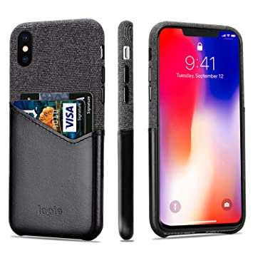 coque iphone xs max avec porte carte