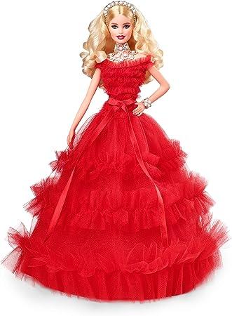 Barbie Noel 2018 Barbie 2018 Holiday Doll, Blonde: Amazon.ca: Toys & Games