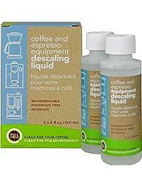 Full Circle Coffee and Espresso Descaling Liquid - 4 oz - Safe On Keurig Delonghi Nespresso