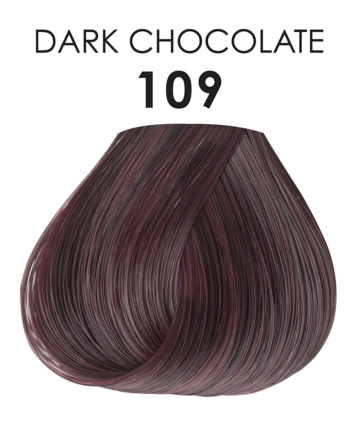 Amazoncom Adore Creative Image Hair Color 109 Dark Chocolate