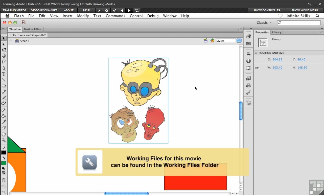 Adobe Flash CS6 [Online Code] by Infiniteskills