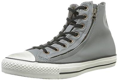 7f601b959da Converse Chuck Taylor DBL Zip Hi Charcoal Unisex Shoes 140031C (SIZE  11.5)