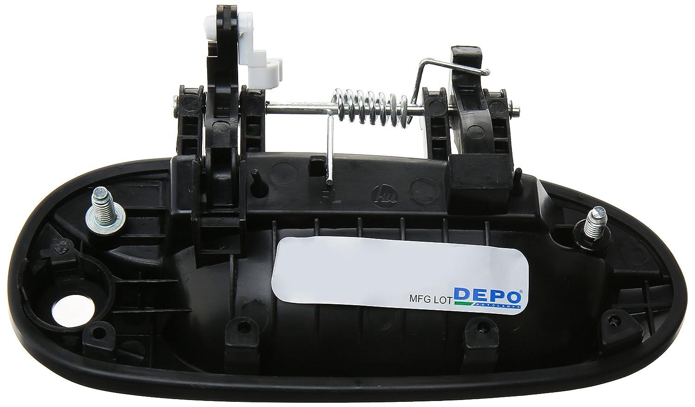 Depo 323-50006-102 Kia Spectra Front Driver Side Replacement Exterior Door Handle
