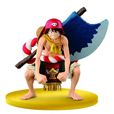 Banpresto–Figurine–One Piece Monkey D. Luffy 25302: Toys & Games