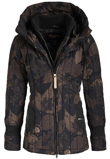 Khujo Women's Long Sleeve Jacket Brown Brown Black XX