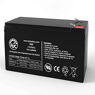 Razor E300 E 300 13113640 12V 8Ah Electric Scooter Battery - This is an AJC Brand Replacement : General Use Batteries : Sports & Outdoors