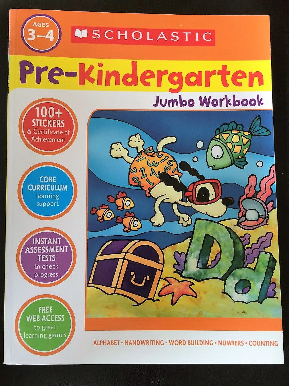 Workbooks pre k workbooks : Scholastic Pre-Kindergarten Jumbo Workbook: 9780545648899: Amazon ...