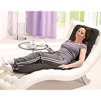 Luxus Massagematte mit kombinierter Wärmefunktion || Im Liegen und Sitzen nutzbar || Massageintensität variabel durch Fernbedienung || Massageauflage inkl. Tragetasche