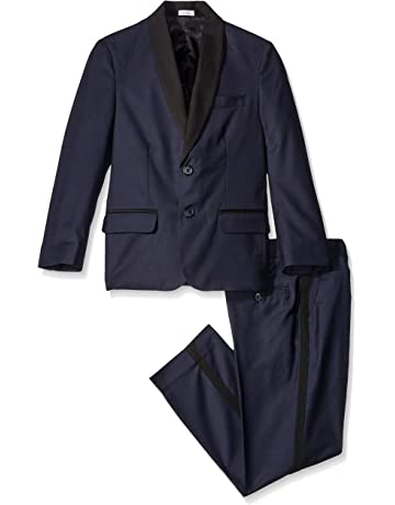 0a4793b5d1781 Calvin Klein Boys  2-Piece Formal Tuxedo Set