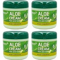 Ansiktskräm och kropp Aloe Vera 300 ml x 4 enheter