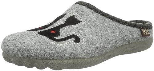 Manitu 320469 - Zapatilla de Estar por casa Mujer: Amazon.es: Zapatos y complementos
