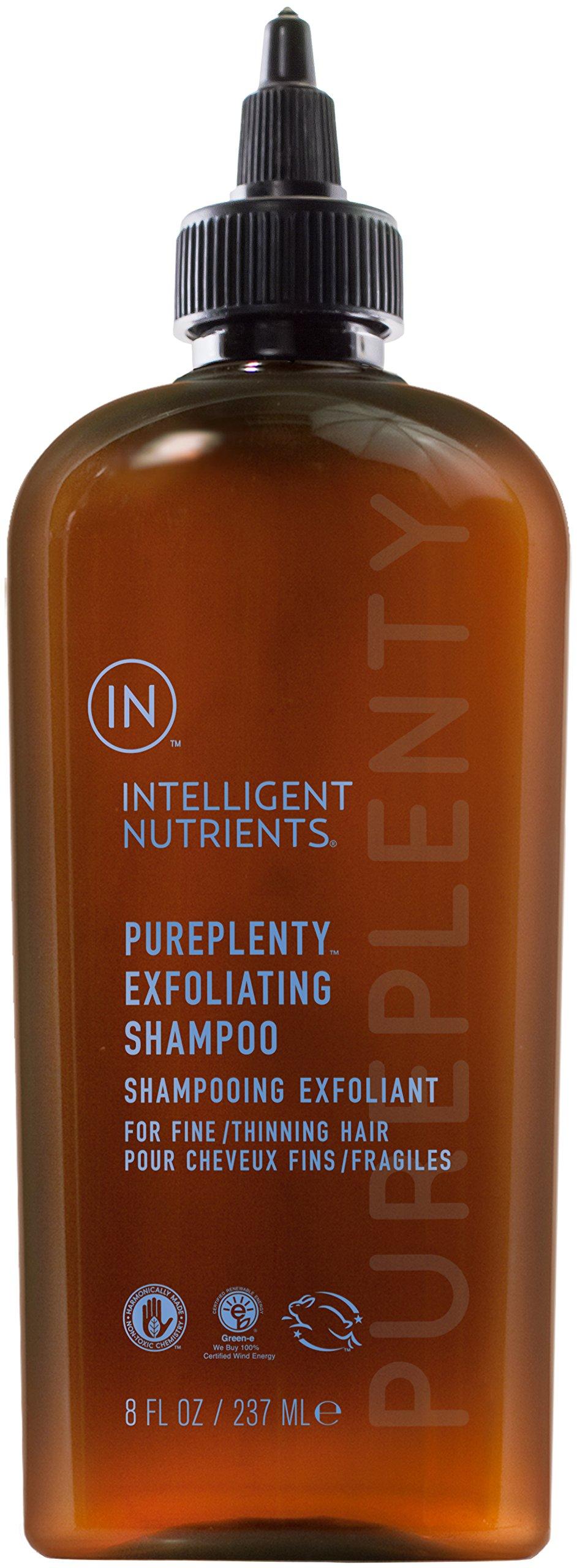 Intelligent Nutrients - PurePlenty Exfoliating Shampoo for Fine and Thinning Hair, 8oz