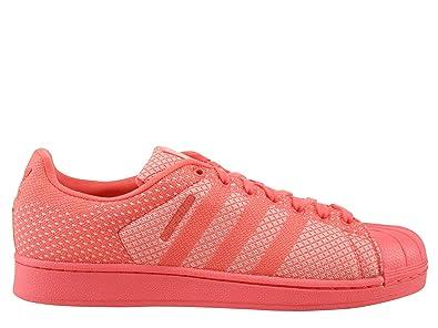 adidas Originals Superstar Weave Chaussures Mode Sneakers Unisex Rouge