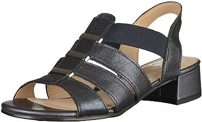 Caprice 9-28200-28 Femmes Sandale Bleu, EU 38,5