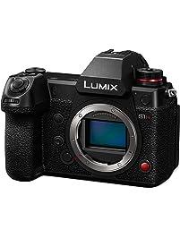 PANASONIC LUMIX S1H Digital Mirrorless Video Camera with 24.2 Full Frame Sensor, 6K/24p Video Recording Capability, V-Log...