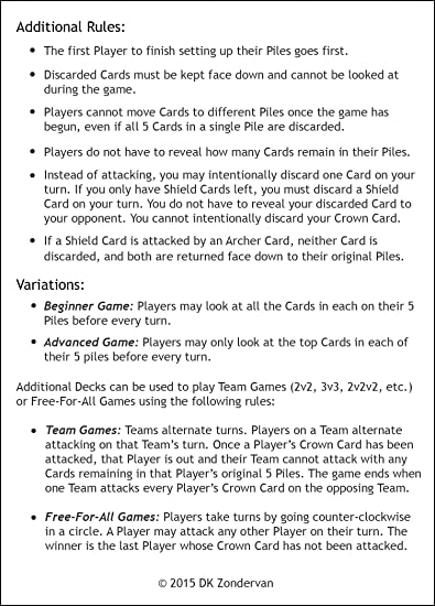 Amazon Scrimish Strategy Card Game Portable Party Game 2