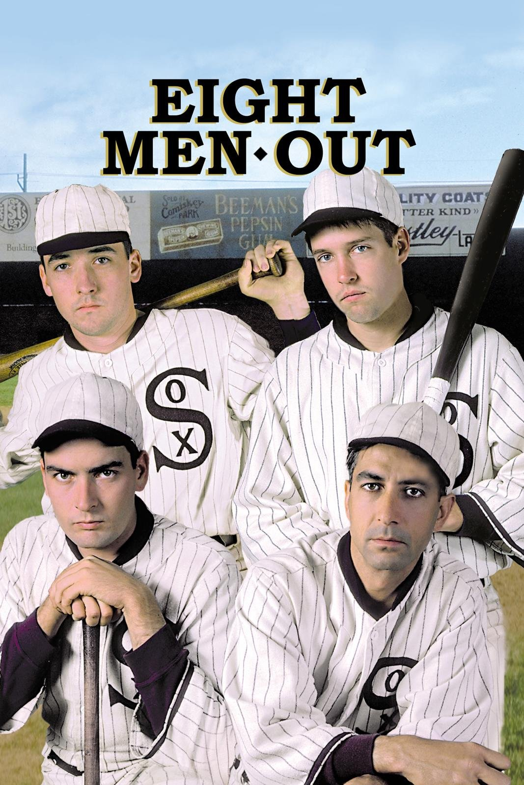 Image result for eight men out dvd cover