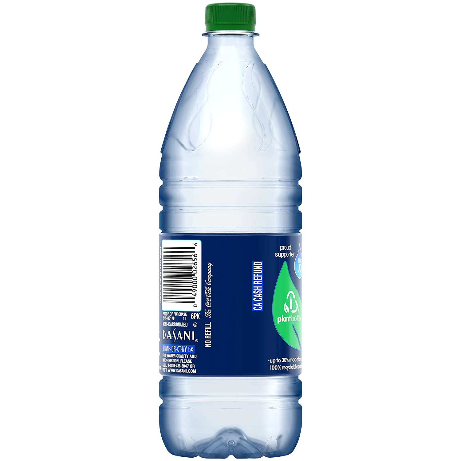 DASANI Purified Water Bottle Enhanced with Minerals, 1 Liter: Amazon.com:  Grocery & Gourmet Food