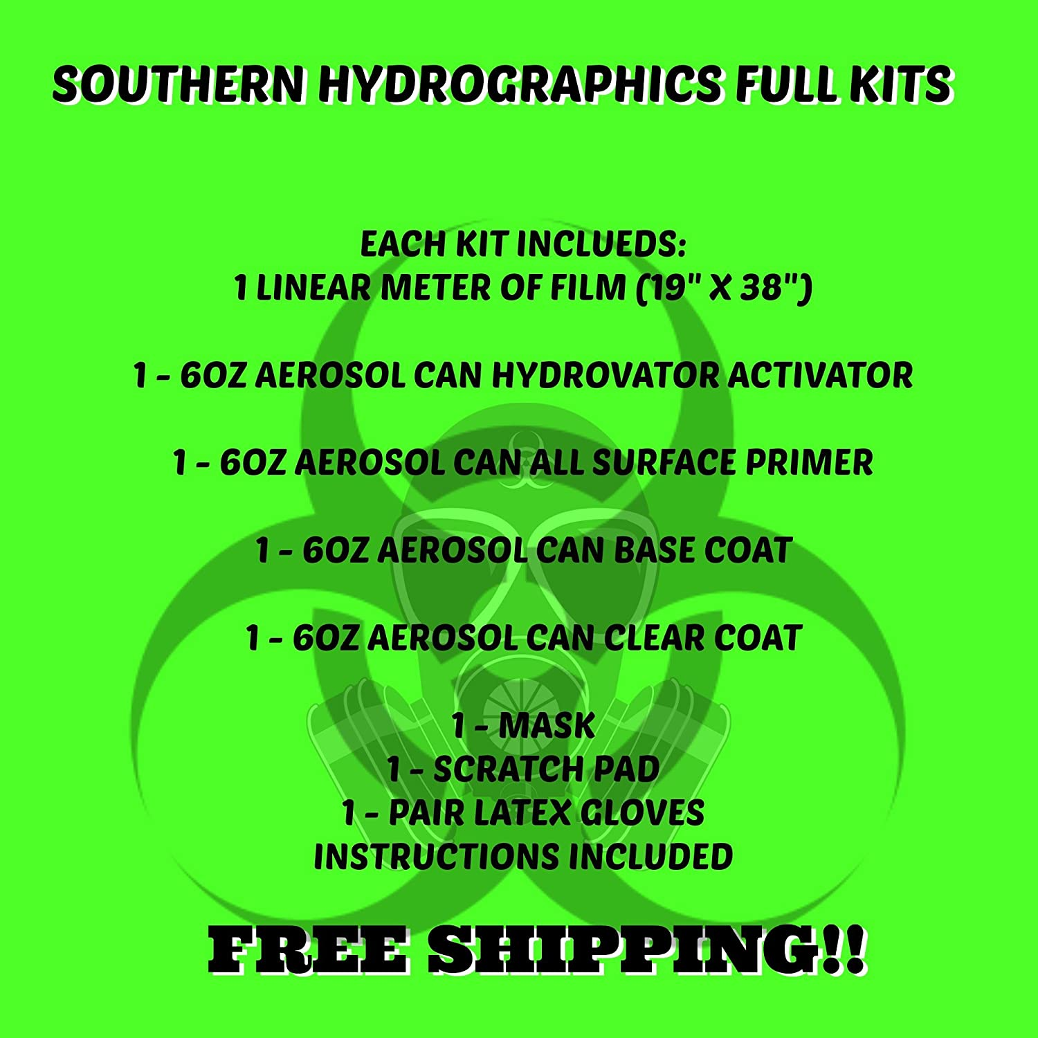 Hydro Dipping Hydro Dip Kit Marble Dip Kit Hydrographics Film Hydro Dip Film Hydrographic Film Water Transfer Printing 6oz Dead Flat Clear, Midwest White