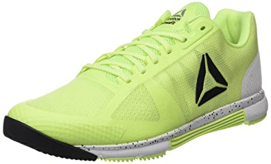 Reebok Men s Crossfit Speed TR 2.0 Fitness Shoes Yellow (Electric  Flash White Black fb3933eef701