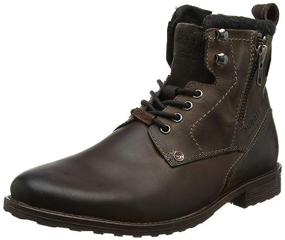 Bugatti Paloma Nappa J09031 - Zapatos de cuero para mujer, color marrón, talla 38