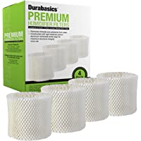 Durabasics 4-Pack of Compatible Humidifier Filters, Replacement for Protec, Vicks, Kaz WF2, 4-Pack