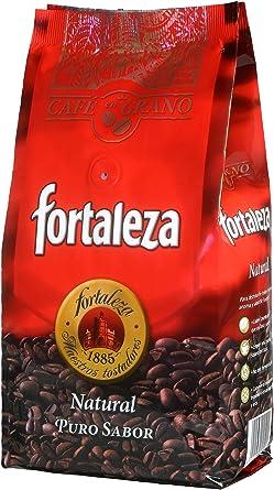 Café Fortaleza Café Grano Natural - 500 gr - [Pack de 3]: Amazon.es: Alimentación y bebidas