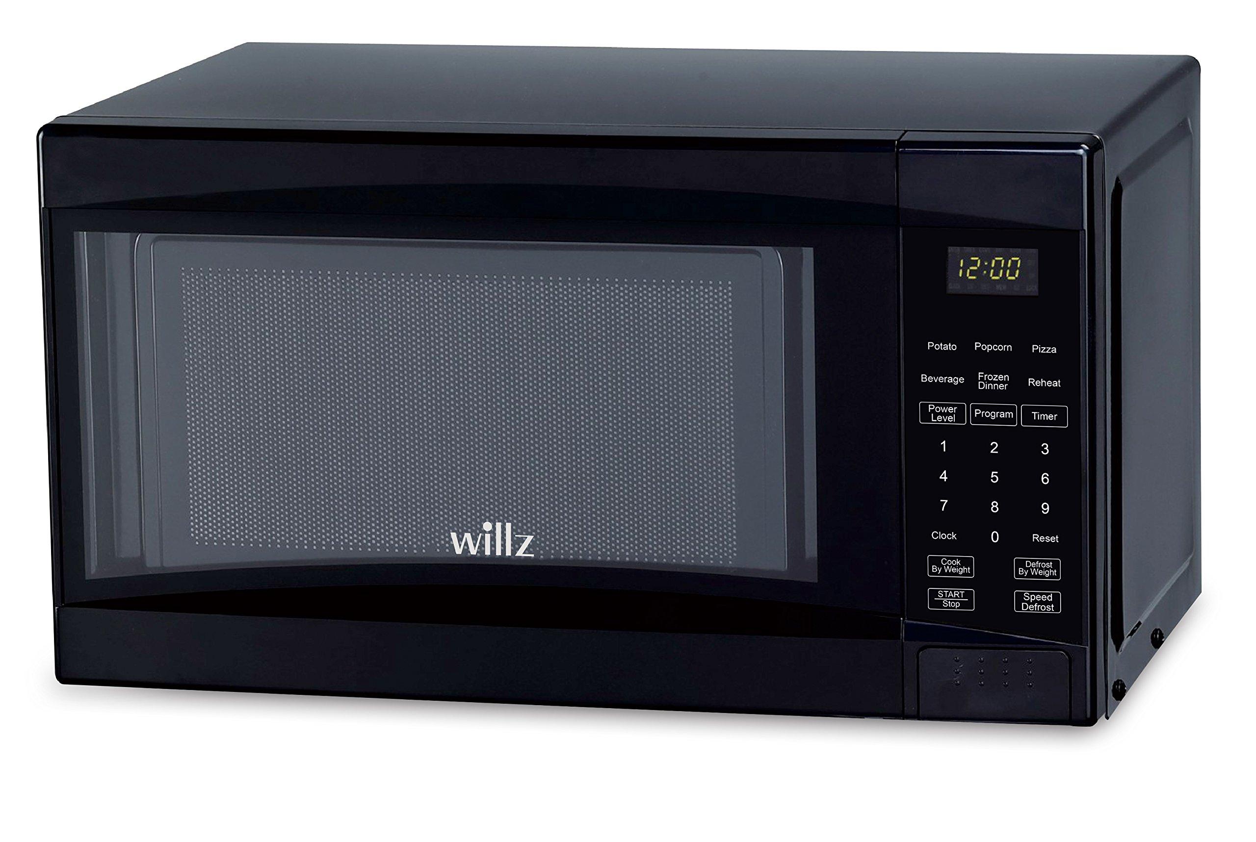 Willz WLCMD207BK-07 1.1 cu ft Black Microwave