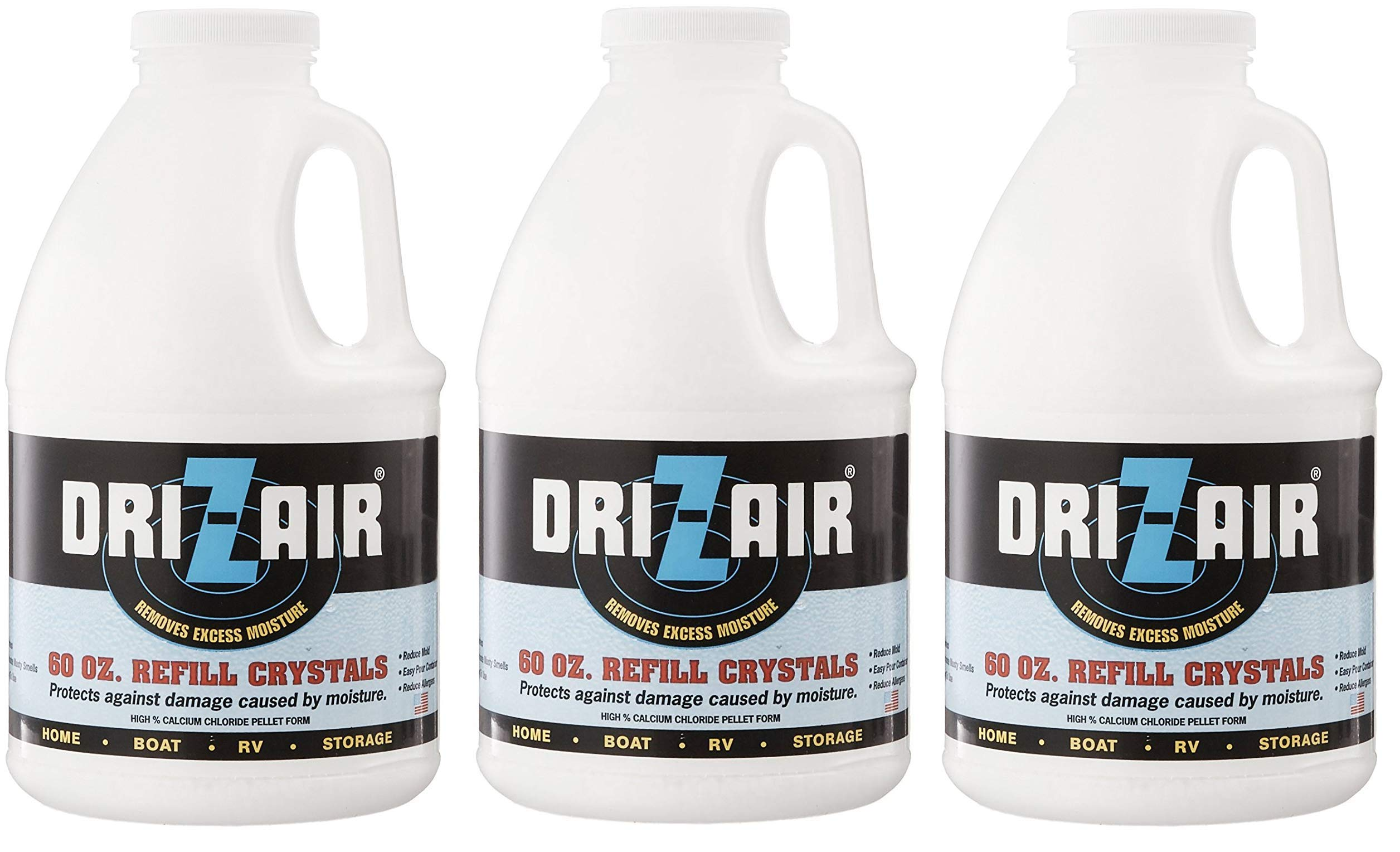Dri-Z-Air DZA-60 60-Ounce Refill Crystals (Тhree Pаck)