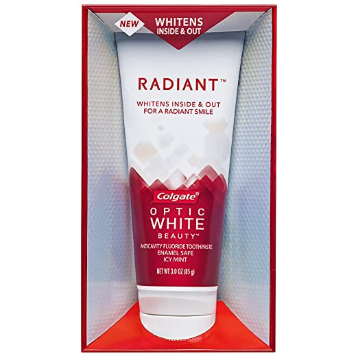 Colgate Optic White Beauty Radiant Toothpaste, 3 Ounce (Pack of 6)