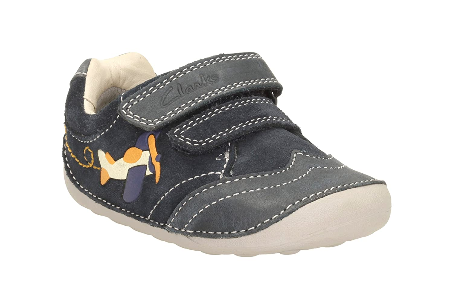 authentic quality highly coveted range of arriving Clarks Baby Boys' Tiny Liam First Shoes - Sneakers: Amazon ...