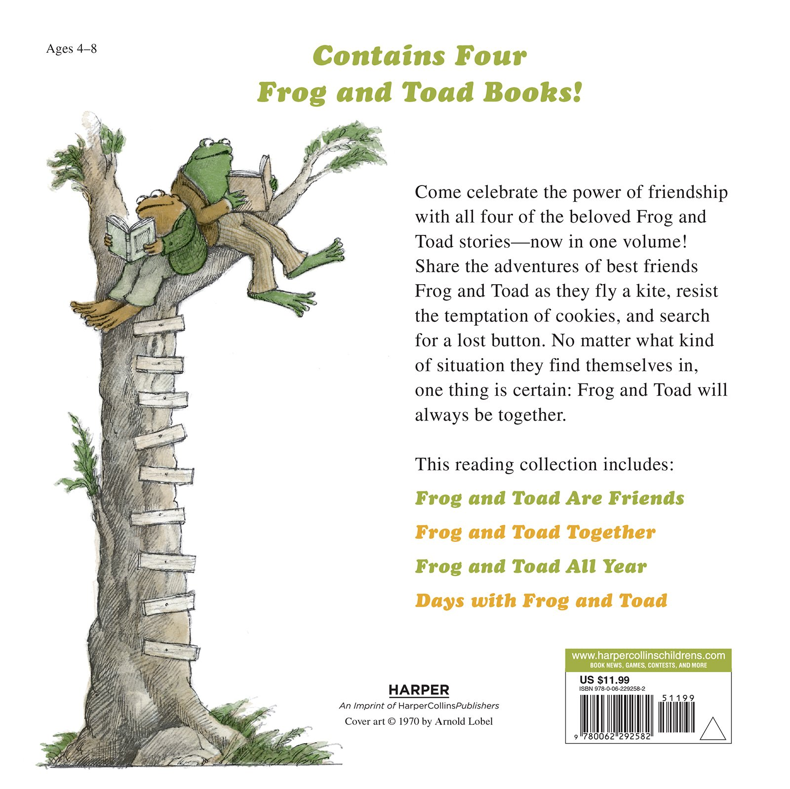 amazon com frog and toad storybook treasury 4 complete stories in