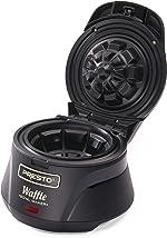 Presto 03500 Belgian Waffle Bowl Maker,Black