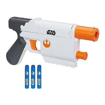 Star Wars Episode VII Nerf Rey (Jakku) Blaster: Toys & Games