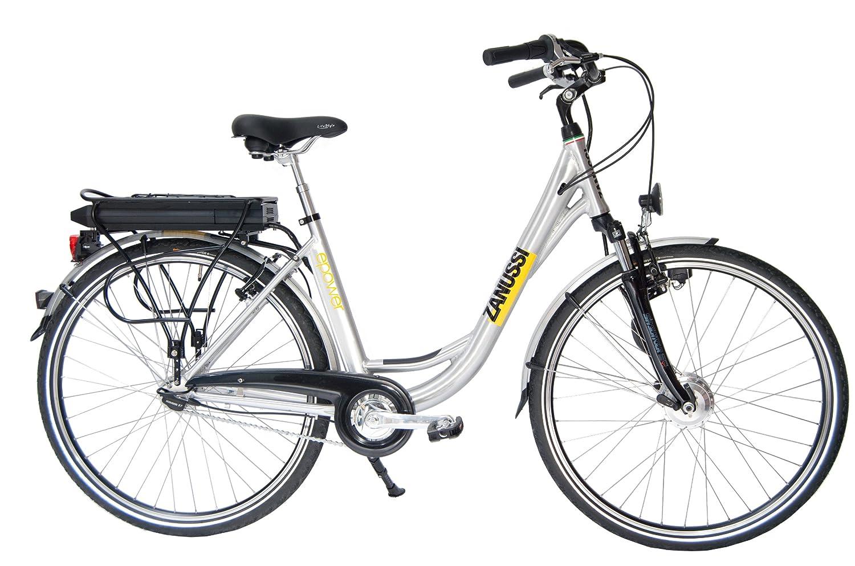 Zanussi E-Bike 1, aluminium silber, Rahmenhöhe: 44 cm, Reifengröße ...