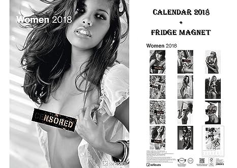 Calendario Max.Calendario Ufficiale Women 2018 Con Magnete Max Power