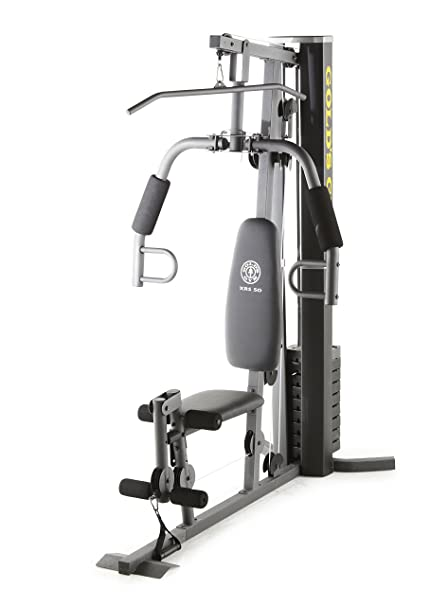Amazoncom Golds Gym Xrs 50 Home Gym System Sports Outdoors