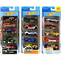 Hot Wheels Track Bundle with Hot Wheels City Track Builder X-Raycers 5-Pack 1:64 Scale Die-Cast Cars Collectors of All…