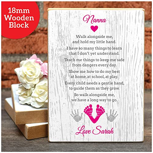 PERSONALISED POEM Mothers Day Keepsake Poem Nanny Nan Nanna Mum ...