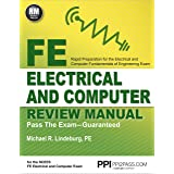 PPI FE Electrical and Computer Review Manual (Paperback) – Comprehensive FE Book for the FE Electrical and Computer Exam