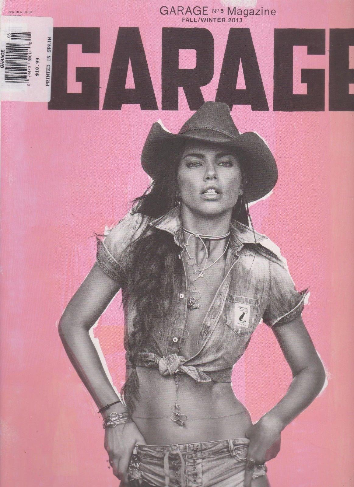 GARAGE MAGAZINE #5 FALL/WINTER 2013, Adriana Lima.