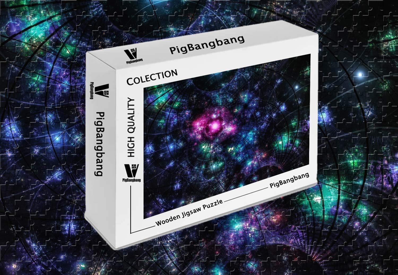 【予約受付中】 PigBangbang、知的ゲーム フォトモザイクジグソーパズル 箱入り 木製 箱入り 有名な絵画 - - クリエイティブなデザイン B07H6XZMHD 抽象的なスペースグリッター - 1500ピースジグソーパズル (34.4 X 22.6インチ) B07H6XZMHD, モダンインテリア Picchio:9f7be050 --- a0267596.xsph.ru