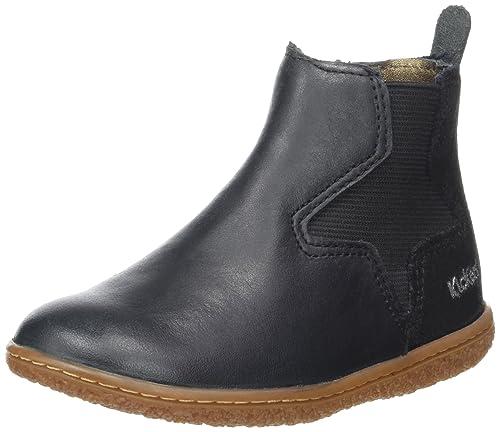 Genieße den reduzierten Preis Großhandelspreis große Auswahl an Farben Kickers Mädchen Vermillon Chelsea Boots, schwarz