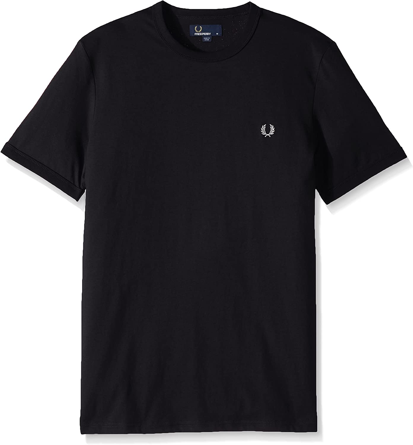 TALLA S. Fred Perry Ringer Camiseta
