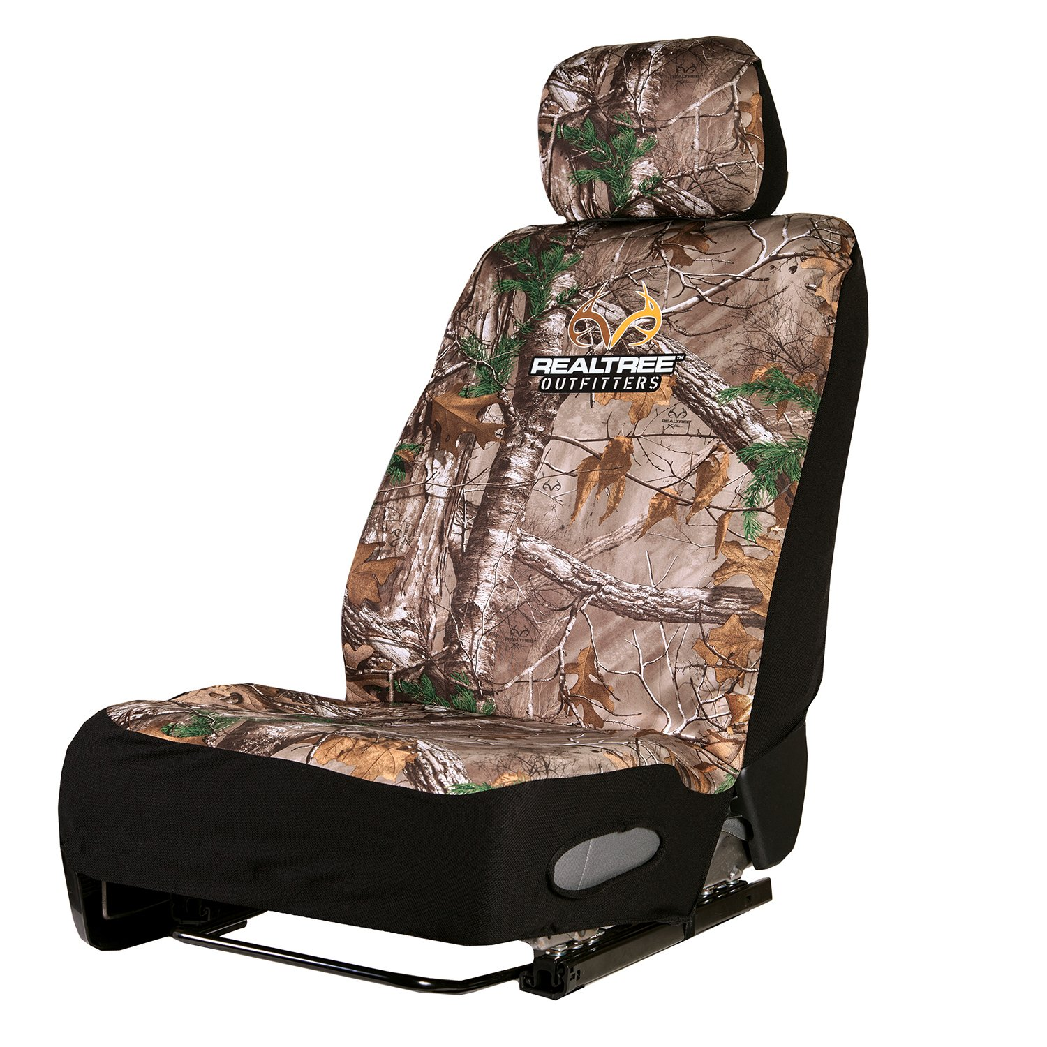 Realtree Camo Seat Cover Single Signature Products Group Neoprene Low Back Xtra