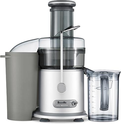 Breville RM-JE98XL Juice Fountain Plus 850-Watt Juice Extractor Renewed