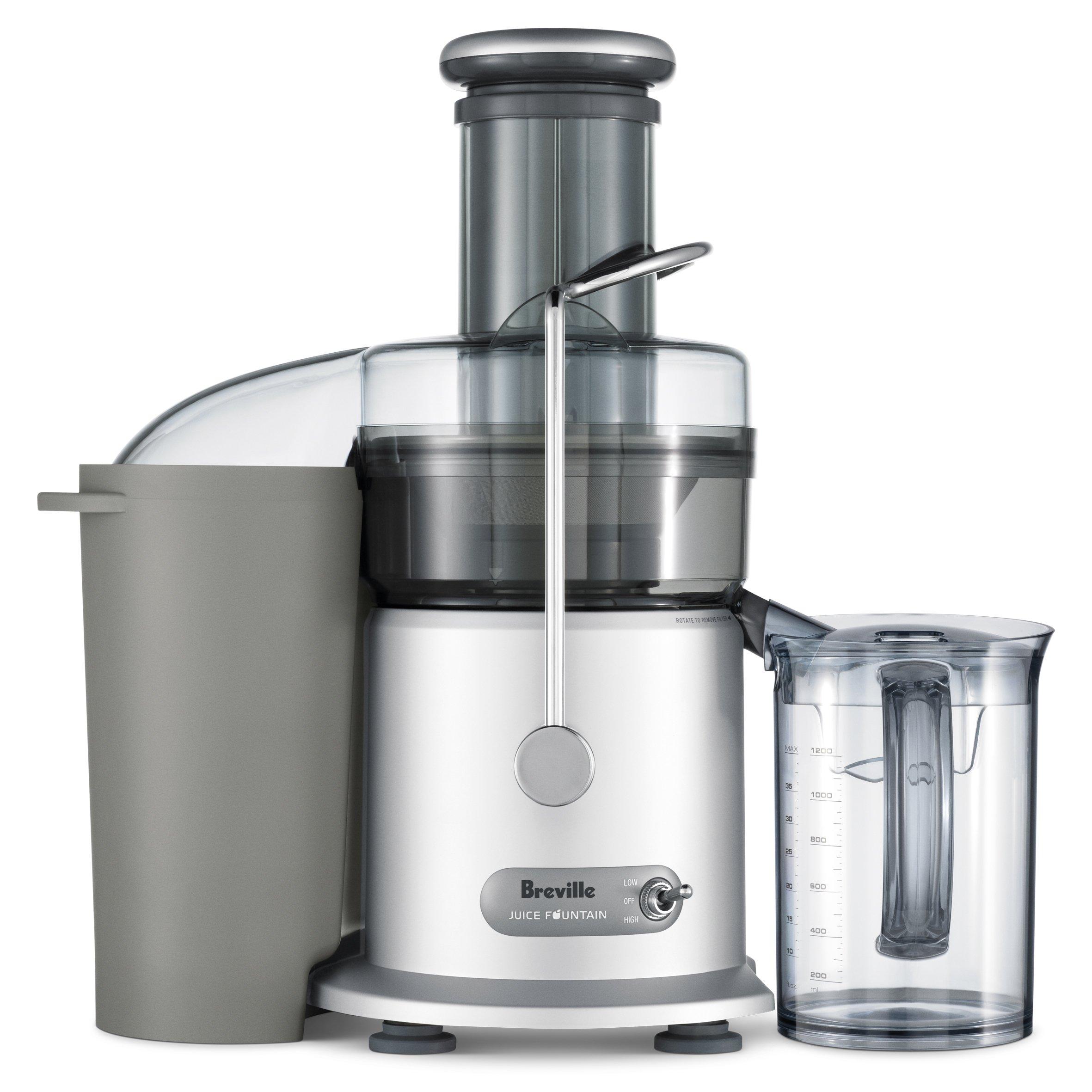 Breville RM-JE98XL Juice Fountain Plus 850-Watt Juice Extractor (Renewed) by Breville