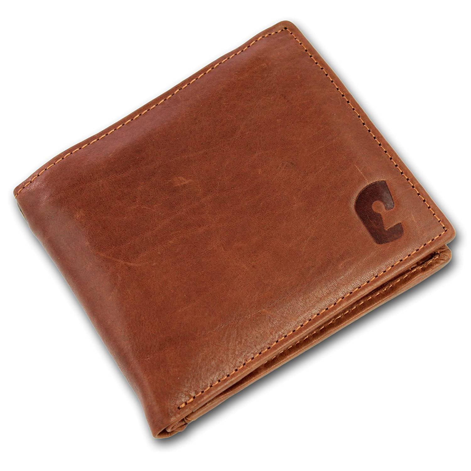 127e773911d Safekeepers Leather Mens Wallet - RFID Blocking Wallet - Travel Wallet –  Biker wallet - Safe Wallet - Chainwallet - Safe Wallet with Chain options -  Eyeled ...