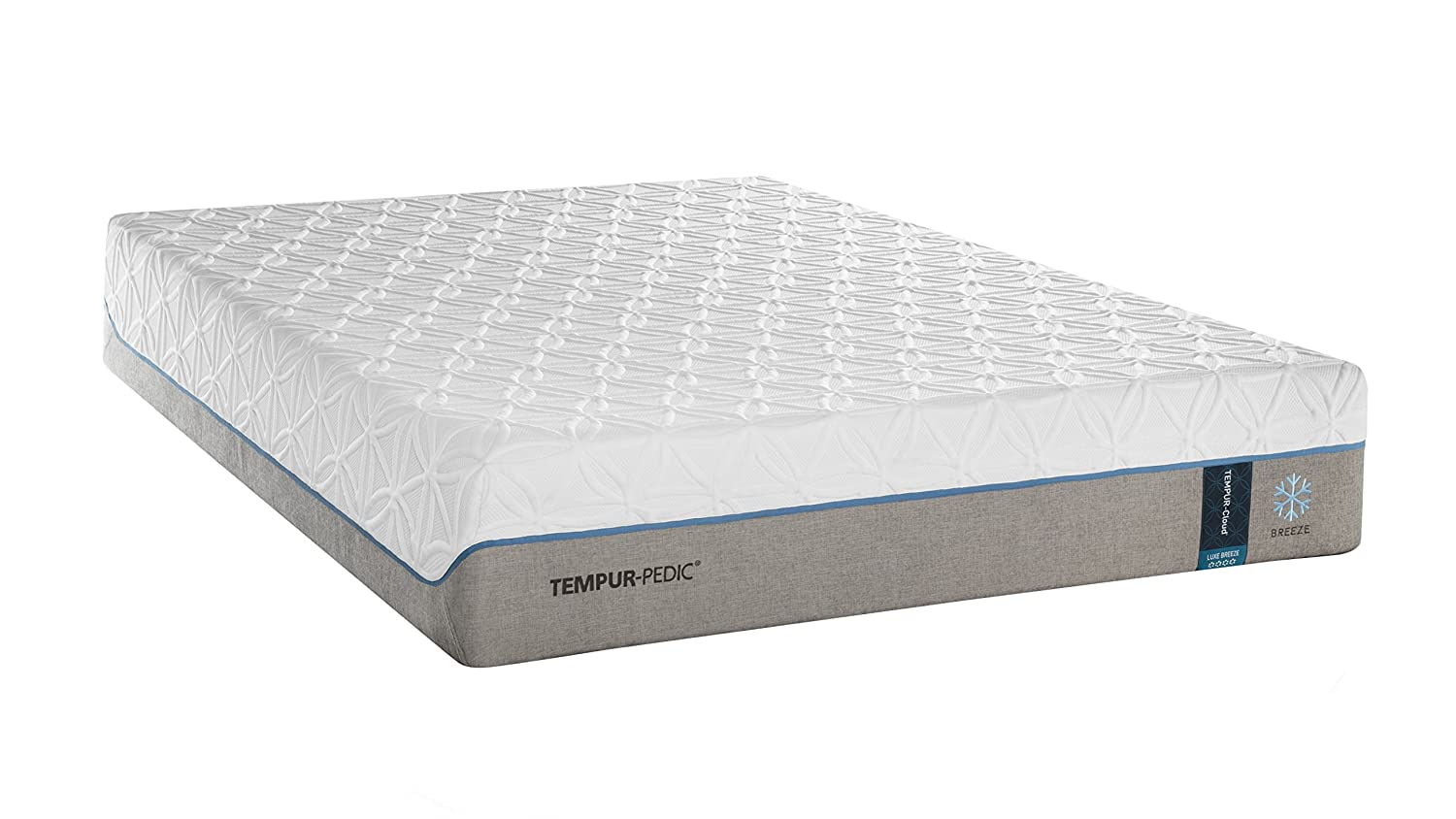 Amazon.com: Tempur-PedicTEMPUR-CloudLuxe Breeze 13.5-Inch Extra-Soft Cooling Foam Mattress, Queen, Made in USA, 10 Year Warranty: Kitchen & Dining